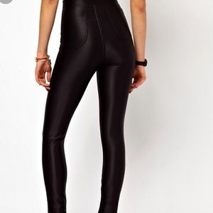 American apparel disco pants aa